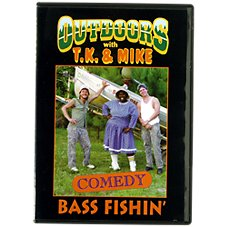 Outdoors with T.K. and Mike ''Bass Fishin' '' Video - DVD