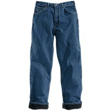 Carhartt Fleece-Lined 5-Pocket Jeans for Men