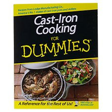 Lodge Cast Iron Cooking for Dummies