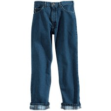 Carhartt Flannel-Lined 5-Pocket Jeans for Men