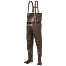 RedHead Bone-Dry Rubber Boot-Foot Chest Waders for Men, Ladies or Kids