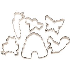 Off The Beaten Path Kid's Nature Cookie Cutter Set