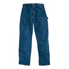 Carhartt Washed Denim Double Front Jeans for Men