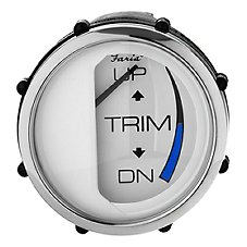Faria Chesapeake Series Trim Gauge for Johnson, Evinrude, and Suzuki