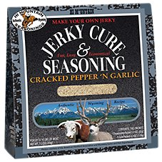 Hi Mountain Jerky Cure & Seasoning - Cracked Pepper 'N Garlic