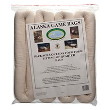 Alaska Game Bags Alaska Rolled Game Bags for Elk - 4-Pack