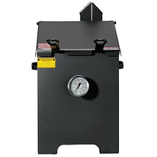 cajun fryer by r u0026 v works propane cooker deep fryers 4 gallon