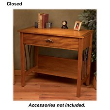 Big Sky Carvers William Herrick Trout Stream Furniture Collection - Willow Run Desk