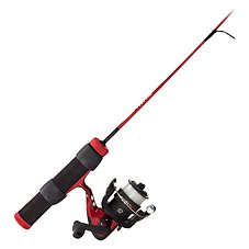 Shakespeare Fuel Ice Fishing Spinning Rod and Reel Combo