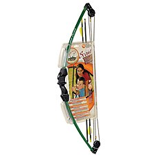 Bear Archery Scout Youth Compound Bow Set