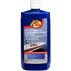 Bass Pro Shops One-Step Fiberglass Wax and Cleaner