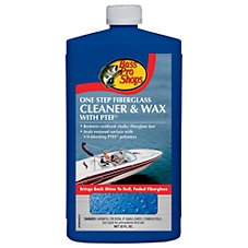 Bass Pro Shops One Step Fiberglass Cleaner and Wax with PTEF