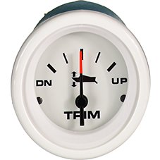 Sierra Marine Arctic Series 2'' Trim Indicator Replacement Gauge
