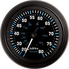 Sierra Marine Eclipse Series 3'' Speedometer