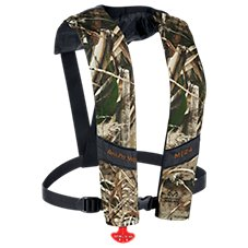 Bass Pro Shops Camo Manual Inflatable Life Vest