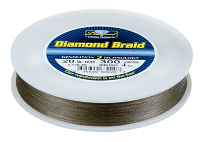 Momoi 39 s diamond braid braided fishing line bass pro shops for Bass pro shop fishing line