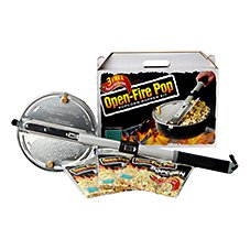 Wabash Valley Farms Open-Fire Pop Popcorn Popper Kit