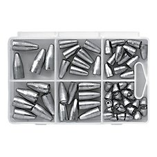 Bass Pro Shops XPS 60-Piece Worm Weight Kit