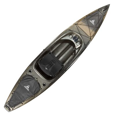 Ascend fs12 sit in angler kayak camo bass pro shops for Bass pro fishing kayak