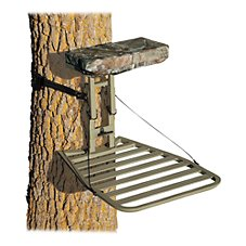 API Outdoors Alumi-Tech Baby Grand Fixed-Position Treestand with Adjustable Seat