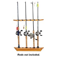 Bass Pro Shops Wall Mount Rod Rack - Vertical
