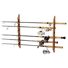 Bass Pro Shops Wall Mount Rod Rack - Horizontal