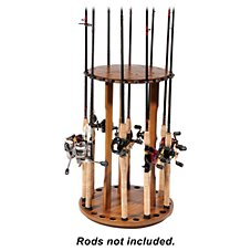 Bass Pro Shops Spinning Floor Rod Rack