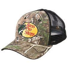 Bass Pro Shops Realtree APG Mesh Back Fitted Cap