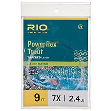 RIO Powerflex Trout Tapered Leaders - Single Pack