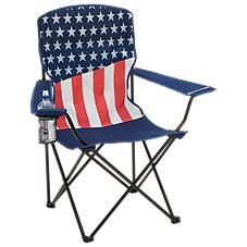 Bass Pro Shops Patriotic Flag Chair