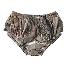 Bass Pro Shops Camo Diaper Covers for Baby Girls