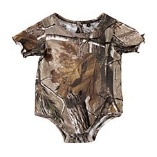 Bass Pro Shops Camo Bodysuit for Baby Girls