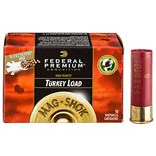 Federal Premium Mag-Shok High Velocity Turkey Load Shotshells with FLITECONTROL