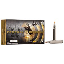 Federal Premium Vital-Shok Trophy Bonded Tip Rifle Ammo