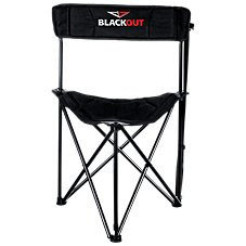 BlackOut Fold-Up Tripod Blind Stool