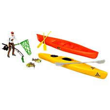 Bass Pro Shops Ascend White Water and Fishing Adventure Play Set for Kids