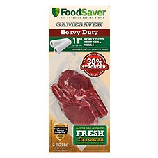 FoodSaver GameSaver Puncture Resistant Roll - 2 Pack