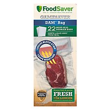 FoodSaver GameSaver Liquid Block Bags - Gallon