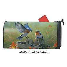 Magnet Works Mailwraps Magnetic Mailbox Cover - Bluebird Landing by The Hautman Brothers