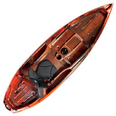 Ascend D10T Sit-On-Top Kayak - Red/Black