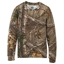RedHead True Fit Camo Long-Sleeve T-Shirt for Youth