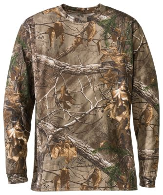 RedHead True Fit Camo Long-Sleeve T-Shirts for Men | Bass Pro Shops
