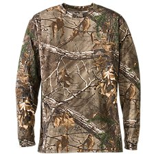 RedHead True Fit Camo Long-Sleeve T-Shirts for Men