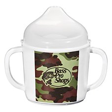 Bass Pro Shops 8 oz. Sippy Cup for Kids - Green Camo