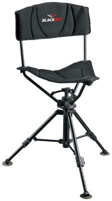Image of  RedHead? BlackOut Swivel Tripod Chair