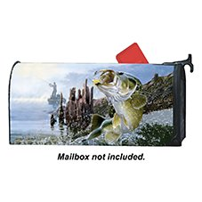 Magnet Works MailWraps Magnetic Mailbox Cover - Big Catch by Al Agnew