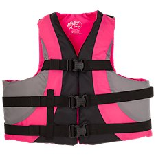 Bass Pro Shops Dual-Sized Recreational Life Vest for Adults