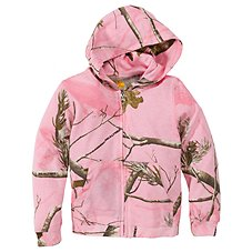 Bass Pro Shops Camo Hooded Zip Jacket for Babies or Toddler Girls