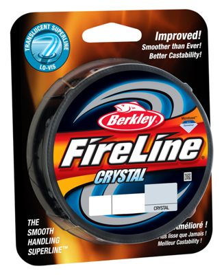 Berkley fireline fused crystal fishing line 125 yards for Bass pro shop fishing line