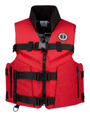 Mustang survival accel100 fishing life vest bass pro shops for Bass fishing life jacket